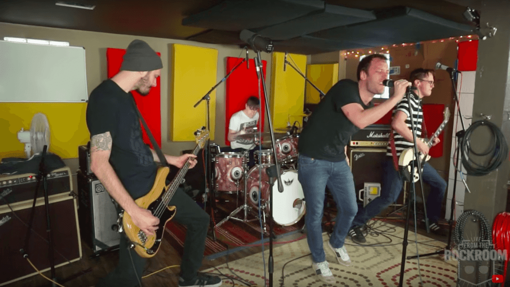 Direct Hit band performing Live from the Rock Room